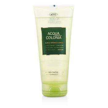 Image of 4711 Acqua Colonia Blood Orange & Basil Aroma Shower Gel 200ml/6.8oz