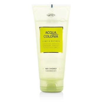 4711 Acqua Colonia Lime & Nutmeg Aroma Shower Gel 200ml/6.8oz men s fragrance