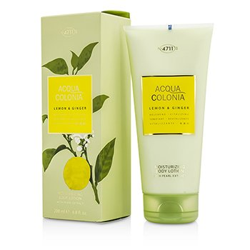 4711Acqua Colonia Lemon & Ginger Moisturizing Body Lotion 200ml/6.8oz