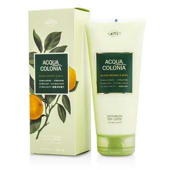 4711Acqua Colonia Blood Orange & Basil Moisturizing Body Lotion 200ml/6.8oz