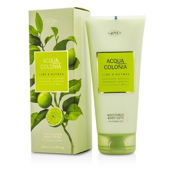 4711Acqua Colonia Lime & Nutmeg Moisturizing Body Lotion 200ml/6.8oz