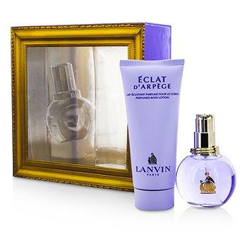 Lanvin Eclat D'Arpege Coffret: Eau De Parfum Spray 50ml/1.7oz + Body Lotion 100ml/3.3oz 2pcs