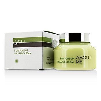 About Me Skin Tone Up Massage Cream 150ml/5oz