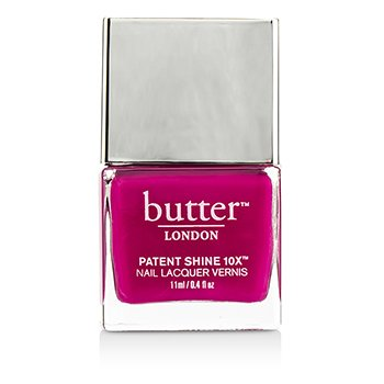 Butter London Patent Shine 10X Nail Lacquer - # Flusher Blusher 11ml/0.4oz