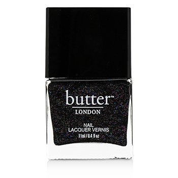Butter London Nail Lacquer - # The Black Knight 11ml/0.4oz