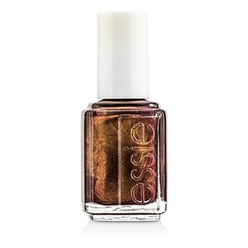 Essie Nail Polish – 0628 Wrapped In Rubies (A Rich And Deep Burgundy With Gold Undertones) 13.5ml/0.46oz
