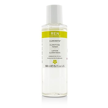 Ren Clarifying Toning Lotion For Combination to Oily Skin (Unboxed) 150ml/5.1oz