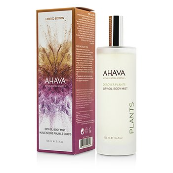 AhavaDeadsea Plants Dry Oil Body Mist (Limited Edition) 100ml/3.4oz