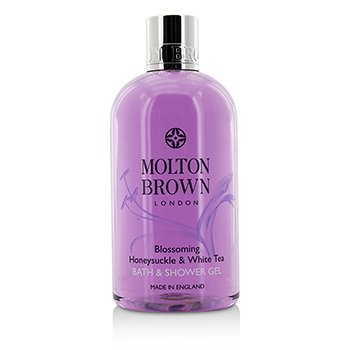 Molton BrownBlossoming Honeysuckle & White Tea Bath & Shower Gel 300ml/10oz