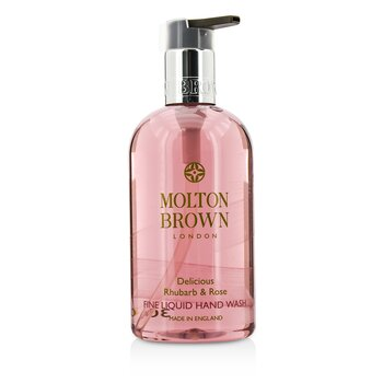 Molton BrownDelicious Rhubarb & Rose Fine Liquid Hand Wash 300ml/10oz