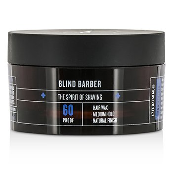 Blind Barber 60 Proof Hair Wax (Medium Hold  Natural Finish) 50ml/1.7oz
