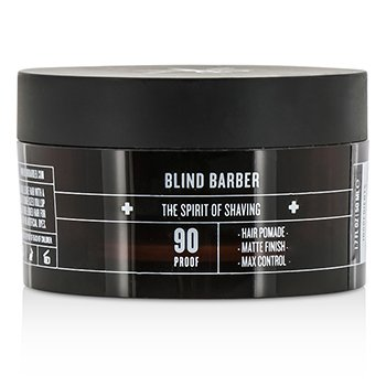 Blind Barber 90 Proof Hair Pomade (Matte Finish  Max Control) 50ml/1.7oz