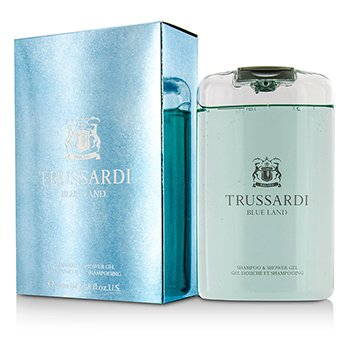 TrussardiBlue Land Shampoo & Shower Gel 200ml/6.7oz