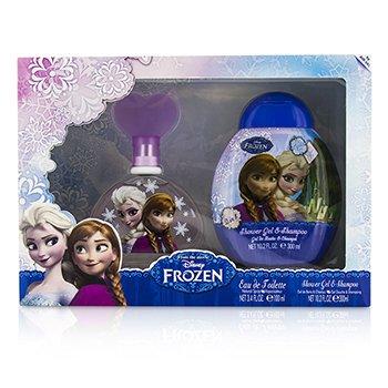 Air Val International Disney Frozen Coffret: Eau De Toilette Spray 100ml/3.4oz + Shower Gel & Shampo