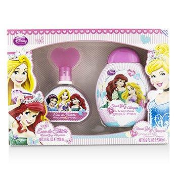 Air Val International Disney Princess Coffret: Eau De Toilette Spray 100ml/3.4oz + Shower Gel & Sham