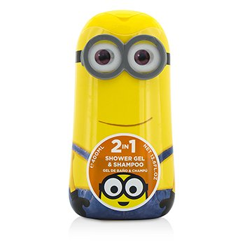 Air Val InternationalMinions (Kevin) 2 In 1 Shower Gel & Shampoo 400ml/13.5oz