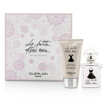Guerlain La Petite Robe Noire Coffret: toaletna voda u spreju 30ml/1oz + mlijeko za tijelo 75ml/2.5oz  2pcs
