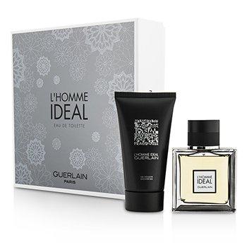 Купить L'Homme Ideal Набор: Туалетная Вода Спрей 50мл/1.6унц + Гель для Душа 75мл/2.5унц 2pcs, Guerlain