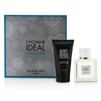 Купить L'Homme Ideal Cologne Набор: Туалетная Вода Спрей 50мл/1.6унц + Гель для Душа 75мл/2.5унц 2pcs, Guerlain
