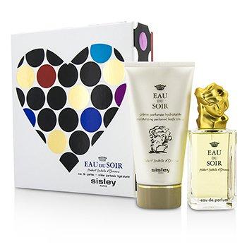 SisleyEau Du Soir Coffret: Eau De Parfum Spray 100ml/3.3oz + Body Lotion 150ml/5.1oz 2pcs