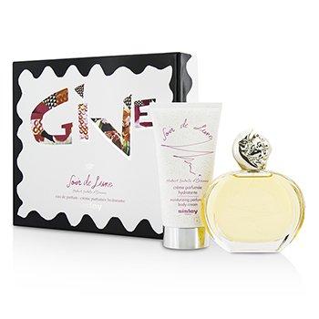 Sisley Soir De Lune Coffret: parfemski sprej 100ml/3.3oz + losion za ruke 150ml/5.1oz  2pcs