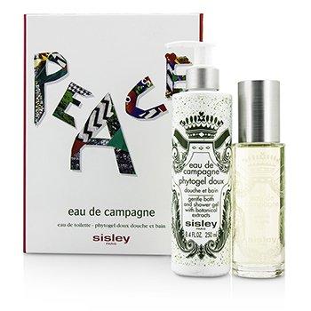 SisleyEau De Campagne Coffret: Eau De Toilette Spray 100ml/3.3oz + Bath Shower Gel 250ml/8.4oz 2pcs