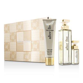 Elizabeth Arden 5th Avenue After Five Coffret: Eau De Parfum Spray 75ml/2.5oz + Body Lotion 100ml/3.3oz + Eau De Parfum Spray 10ml/0.33oz  3pcs