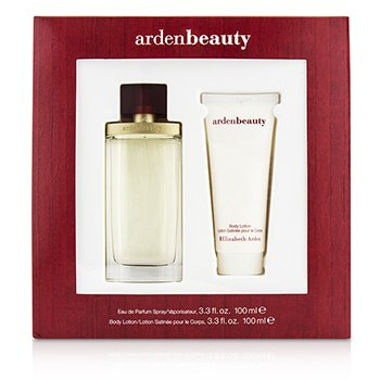 Elizabeth Arden Arden Beauty Coffret: Eau De Parfum Spray 100ml/3.3oz + Body Lotiion 100ml/3.3oz  2pcs