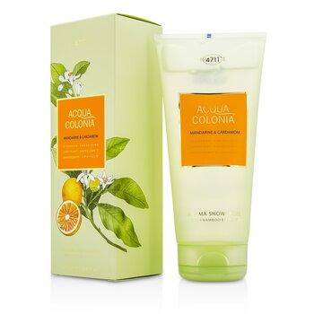 4711 Acqua Colonia Mandarine & Cardamom Aroma Shower Gel 200ml/6.8oz men s fragrance