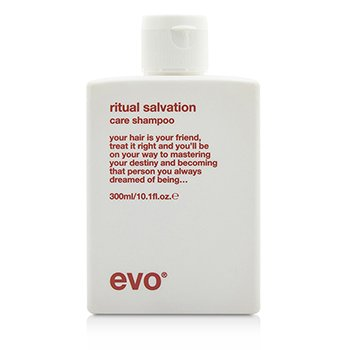 Evo Ritual Salvation Care Shampoo (For Colour-Treated  Weak  Brittle Hair) 300ml/10.1oz