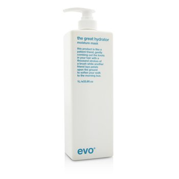 Evo The Great Hydrator Moisture Mask (For Dry  Frizzy  Colour-Treated Hair) 1000ml/33.8oz