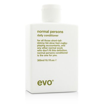 Evo Normal Persons Daily Conditioner (For All Hair Types  Especially Normal to Oily Hair) 300ml/10.1oz