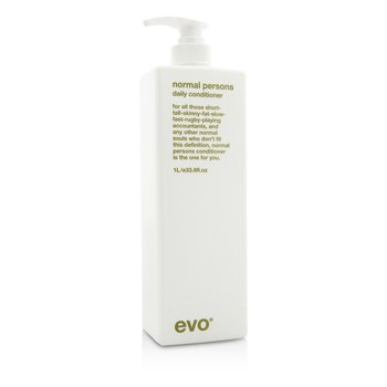 Evo Normal Persons Daily Conditioner (For All Hair Types  Especially Normal to Oily Hair) 1000ml/33.8oz
