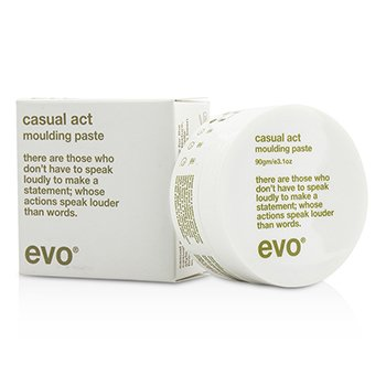 Evo Casual Act Moulding Paste (For All Hair Types  Especially Fine Hair) 90g/3.1oz