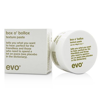 EvoBox O' Bollox Texture Paste (For All Hair Types, Especially Short, Textured Haircuts) 90g/3.1oz