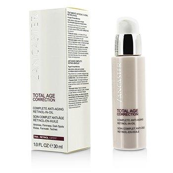 Lancaster Przeciwzmarszczkowy krem na noc  z retinolem Total Age Correction Complete Anti-Aging Retinol-In-Oil  30ml/1oz