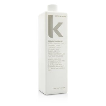 Kevin.Murphy Balancing.Wash (Strengthening Daily Shampoo – For Coloured Hair) 1000ml/33.6oz