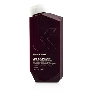 Kevin.Murphy Young.Again.Wash (Immortelle and Baobab Infused Restorative Softening Shampoo – To Dry Brittle Hair) 250ml/8.4oz