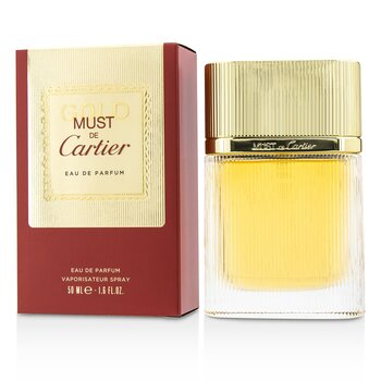 Cartier Must De Cartier Gold EDP Spray 50ml/1.6oz women