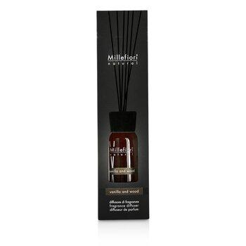 Millefiori Natural Fragrance Diffuser – Vanilla & Wood 100ml/3.38oz
