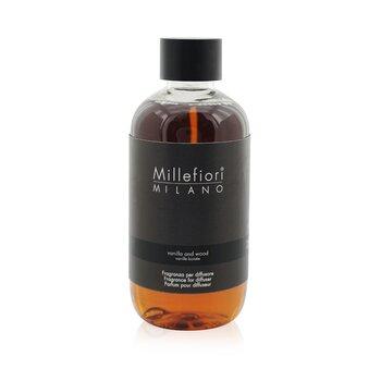 Millefiori Natural Fragrance Diffuser Refill – Vanilla & Wood 250ml/8.45oz