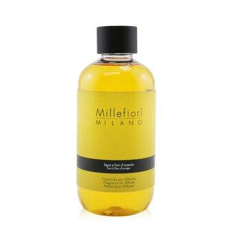 Millefiori Natural Fragrance Diffuser Refill – Legni E Fiori D'Arancio 250ml/8.45oz