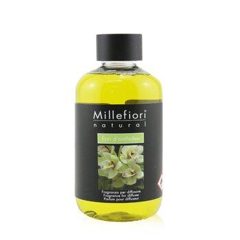 Millefiori Natural Fragrance Diffuser Refill – Fiori D'Orchidea 250ml/8.45oz