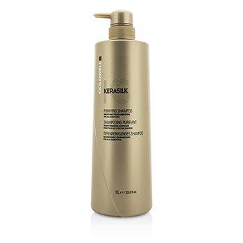 Goldwell Kerasilk Purifying Shampoo - Smoothing Transformation (For All Hair Types)  1000ml/33.8oz