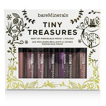 Bare EscentualsBareMinerals Tiny Treasures Marvelous Moxie Lipgloss Set 7pcs