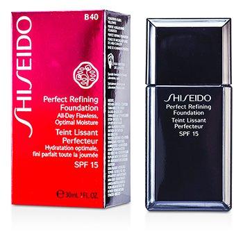 ShiseidoPerfect Refining Base Maquillaje SPF15 - # B40 Natural Fair Beige 30ml/1oz