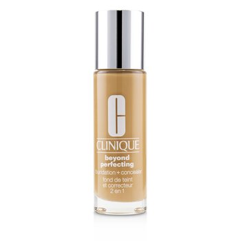 Clinique Beyond Perfecting Foundation & Concealer - # 18 Sand (M-N) 30ml/1oz