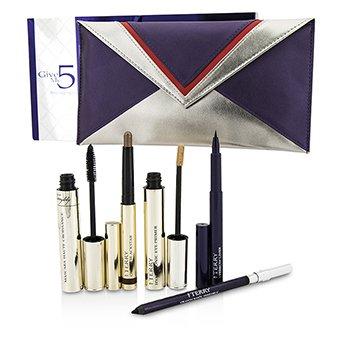By TerryGive Me 5 Smoky Eyes Kit (1x Eye Primer, 1x Eye Pencil, 1x Mascara, 1x Brow Liner...) 6pcs