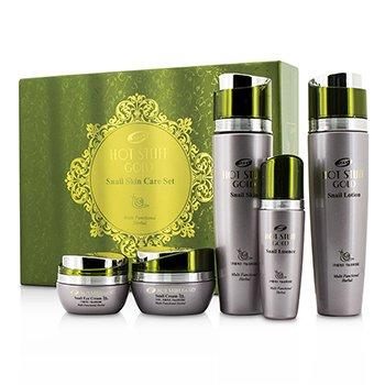 Hot Stuff Gold Plus Snail Moisture Skin Care Set: Snail Skin 150ml + Snail Lotio skincare