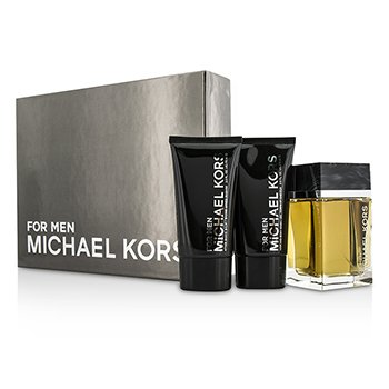 Michael Kors Michael Kors Coffret: Eau De Toilette Spray 125ml/4oz + After Shave Balm 75ml/2.5oz + Body Wash 75ml/2.5oz 3pcs